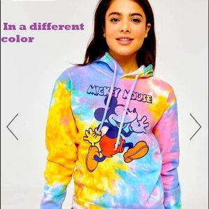 🔥3/$20.Ardene Tie-Dye Mickey Mouse Hoodie, M